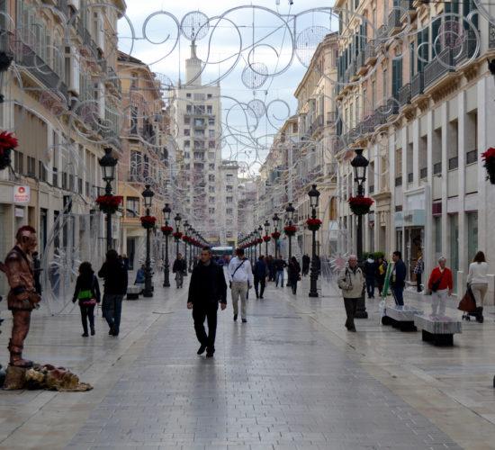 Calle Marqués de Larios Málaga